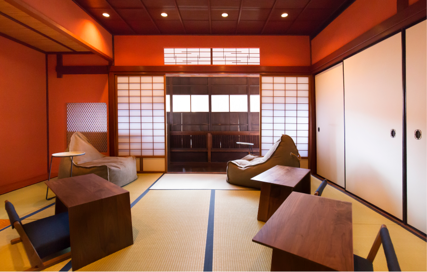 Room A(10畳・定員 5人)