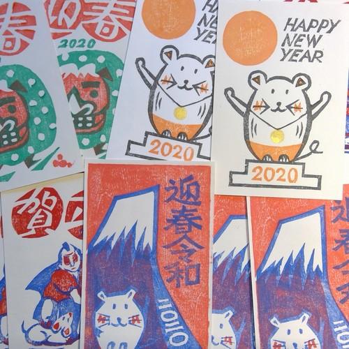 K.Itoya6階【木版画】第28回 木版画教室「年賀状をつくろう」 11月開催