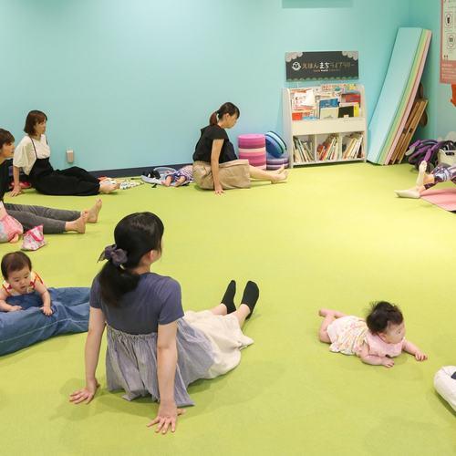 【つどいのひろば】子育て中のママが気軽に参加できるママのための体操