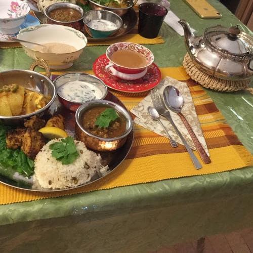 インド・スパイス料理教室(ベーシック)冬編    ちあき