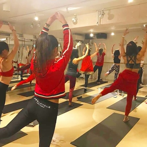 12/14 Xmas POP PILATES by RISA