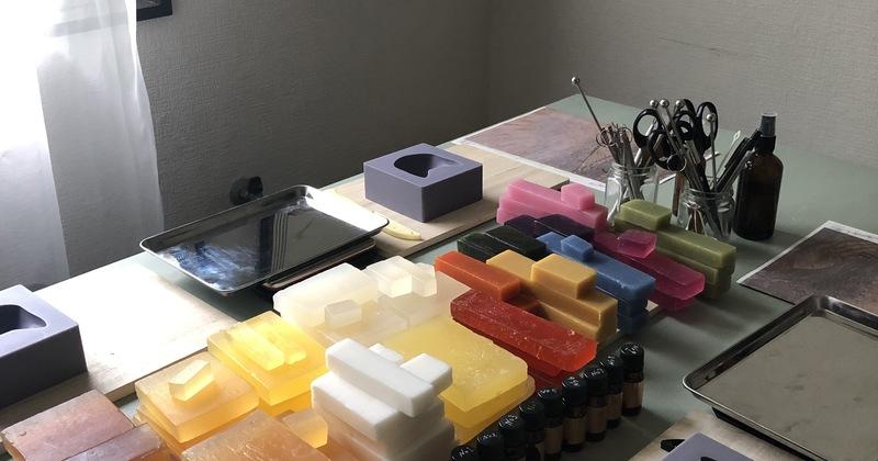 G.Itoya6階【9.kyuu(キュウ)】 ネコの顔型美容石鹸が作れるワークショップ開催 11月14日(土)