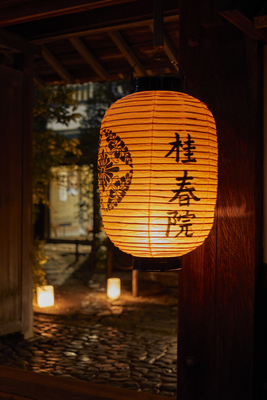 妙心寺桂春院「幽玄の美に触れる夜の拝観」(食事なし)
