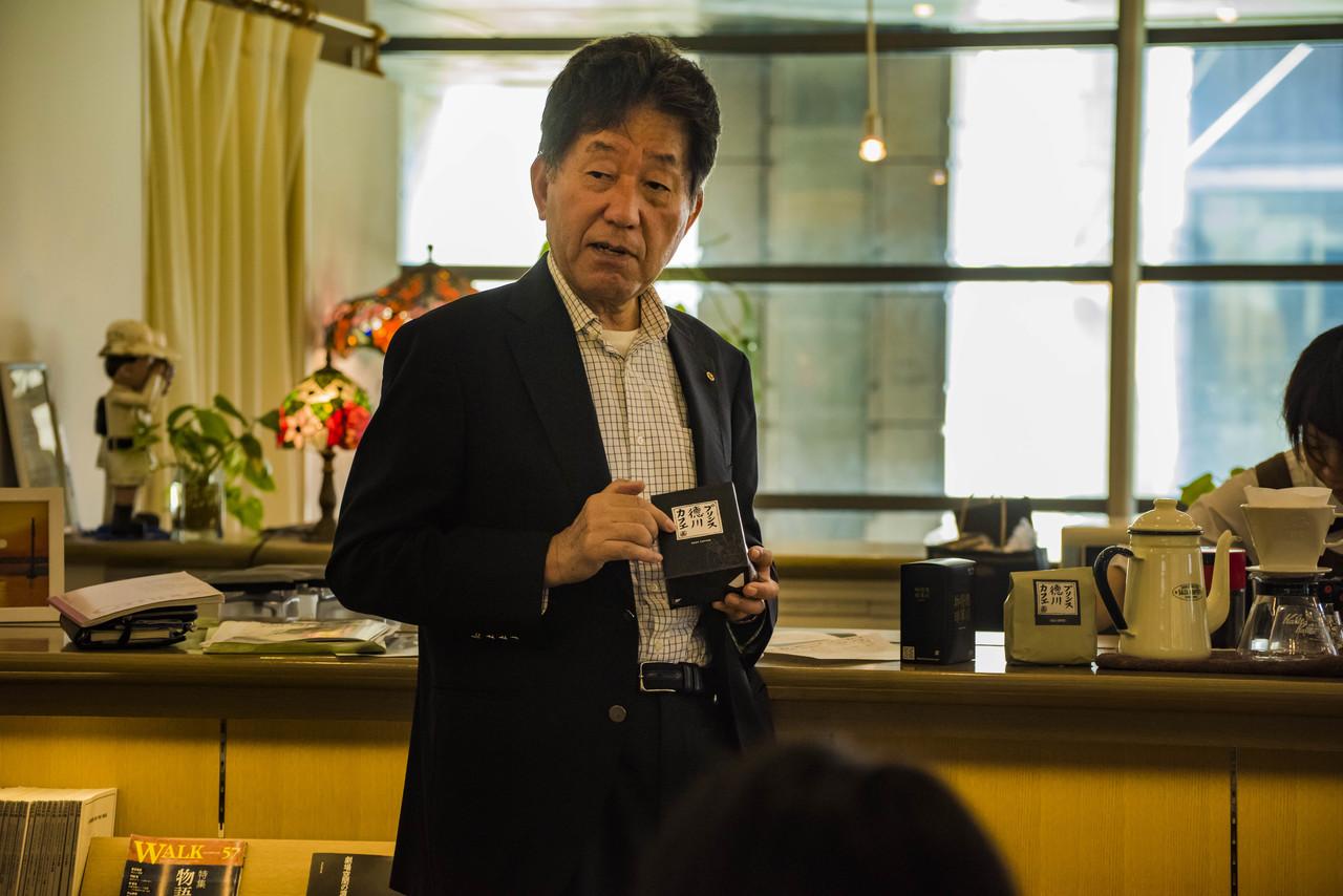 満員御礼【開催店舗 サザコーヒー水戸芸術館店】鈴木 誉志男 コーヒーセミナー