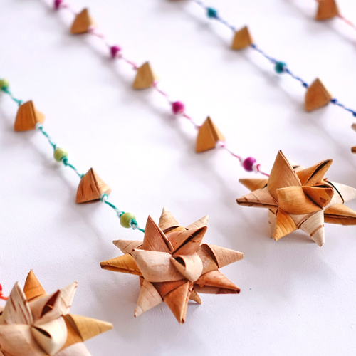 たまアリ△タウン クリスマスマーケット『白樺の星形オーナメントづくり』ワークショップ