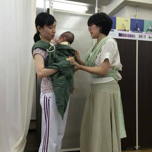 【個別予約】パパママと赤ちゃんのための安心だっこ&ラクチンおんぶレッスン