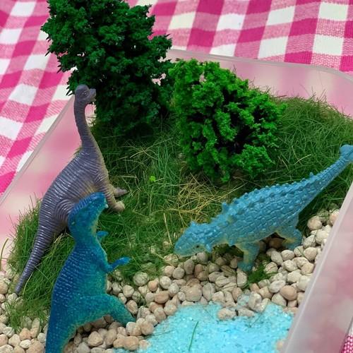 【小平】小平☆おやこハンドメイドマルシェ~③恐竜の箱庭(ドラリウム)作り~ 2019年9月8日(日)
