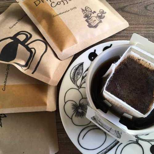 コーヒーミニ講座と世界のコーヒー飲み比べ  / ドリップバッグ作り