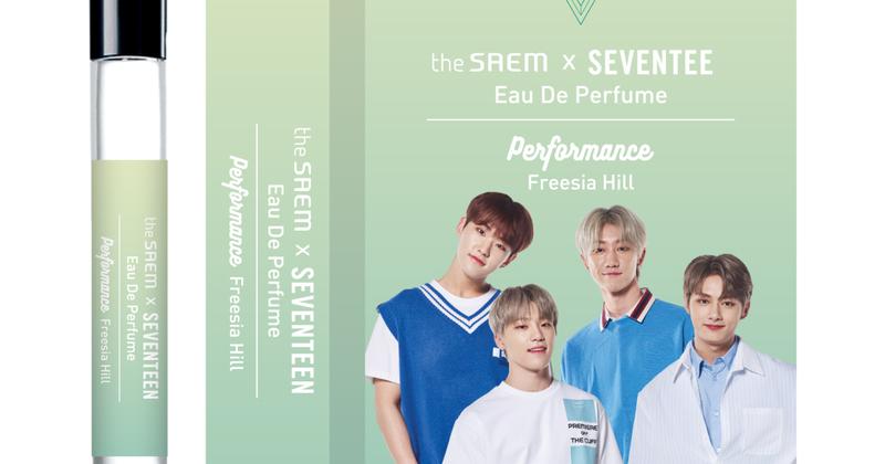 the SAEM × SEVENTEEN Cafe