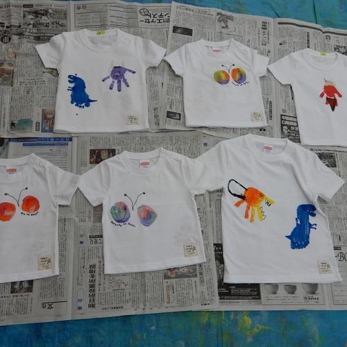 7月3日 Kodomo‐iro「ちっちゃな手形のTシャツ作り」