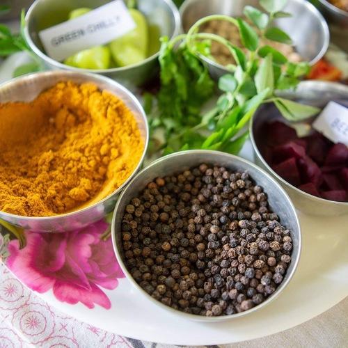 インド・スパイス料理教室(アドバンス)春編    ちあき