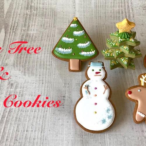 🔰クッキーツリー&クリスマスクッキーレッスン(1day Lesson)