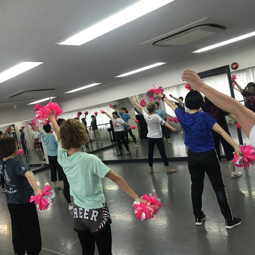 初めてのチアダンスNEW!! キャンサーチア基礎教室 @秋葉原 2019年11月10日(日)10:10〜