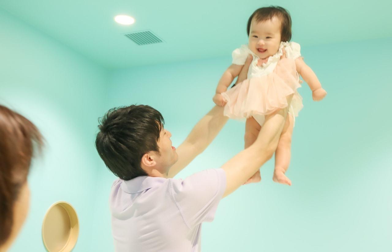 【つどいのひろば】パパと赤ちゃんの2人時間を思いっきりエンジョイ!