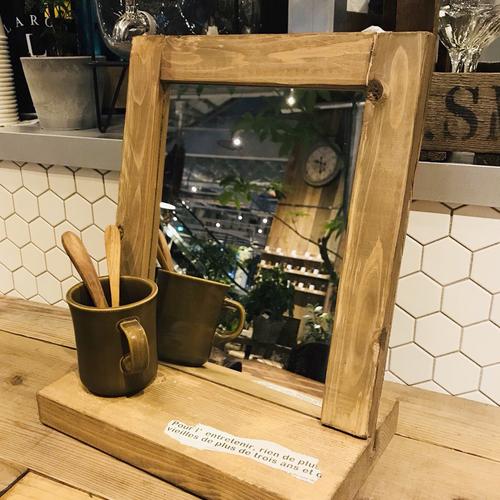 【名古屋店/2019.08.01(木)】wood stand mirror