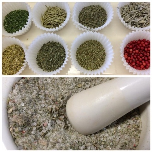 ミックススパイスを作ろう「七味唐辛子」「ハーブソルト」「カレー粉」