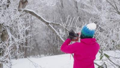 【広島・雪遊び】深入山で雪山さんぽ~スノーシューをはいて雪原へ飛び出そう~