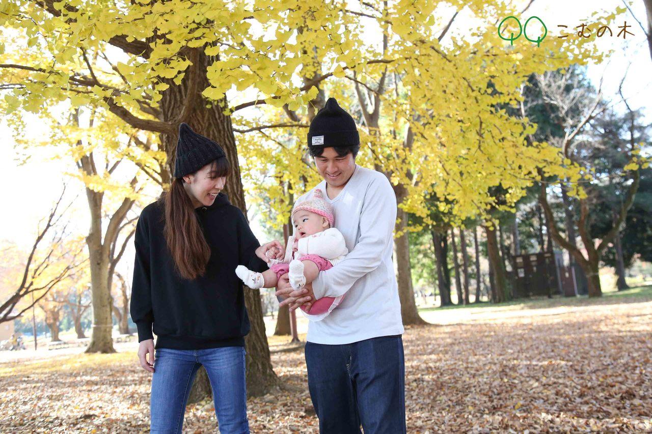 家族写真撮影会「こむの木」@根岸森林公園2020/11/23(月)祝日