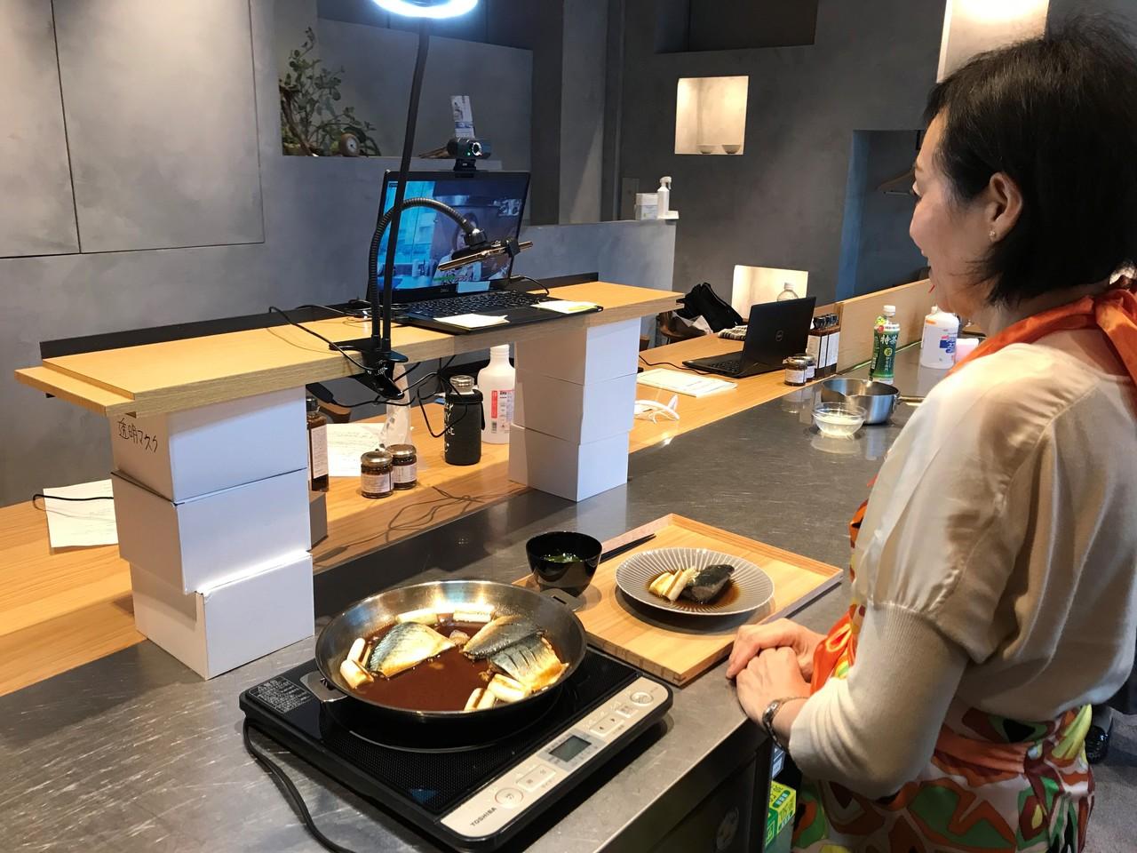 こころダイニング吉祥寺 「オンライン 初心者 料理教室」(全3回調味料付き)