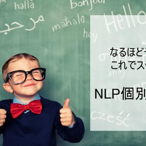 【卒業生限定】NLP個別相談会