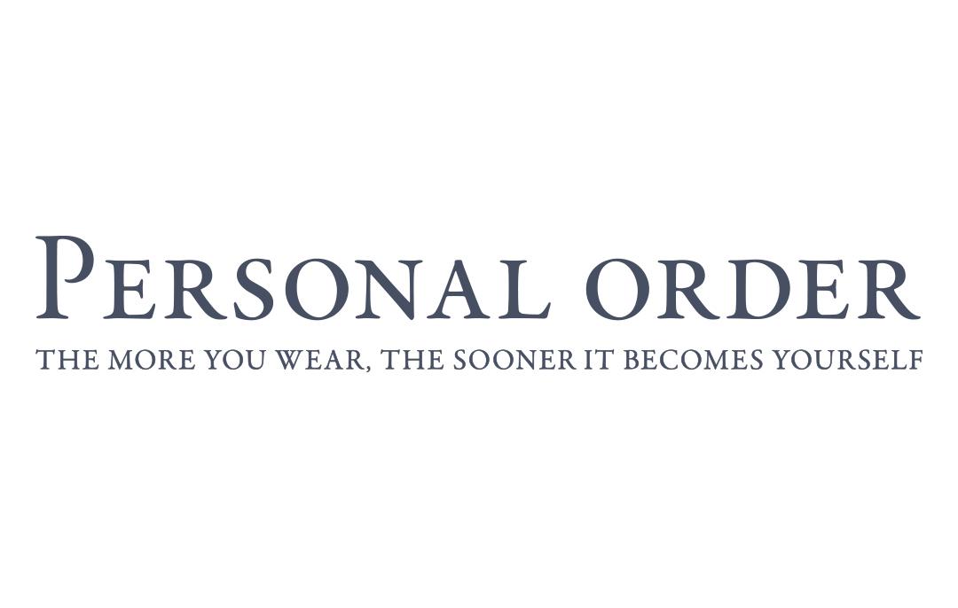 トゥモローランド 新宿伊勢丹店(メンズ)「Personal Order」予約ページ
