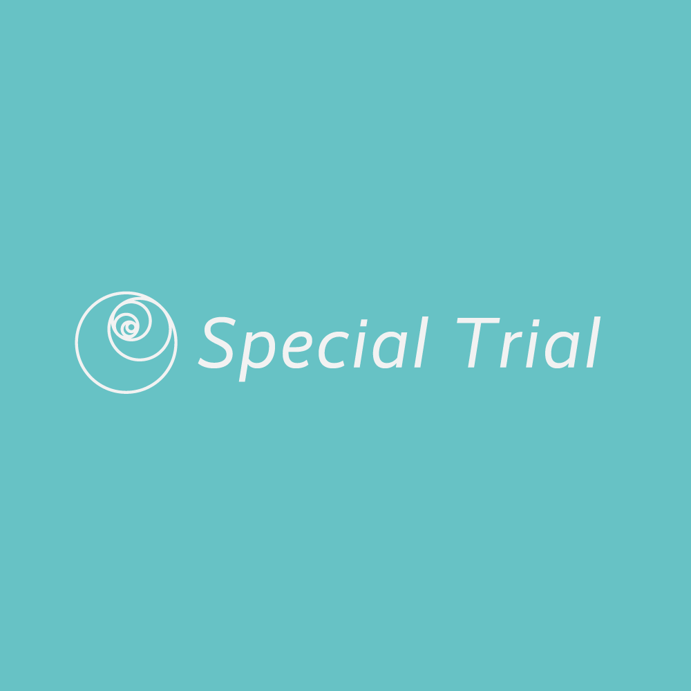 Special Trial【特別ご招待】9/20~10/31
