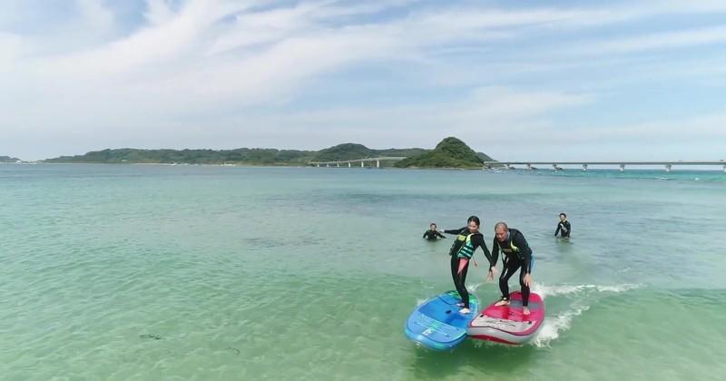 絶景の角島を冒険「アドベンチャープラン」・ドローン撮影プレゼント
