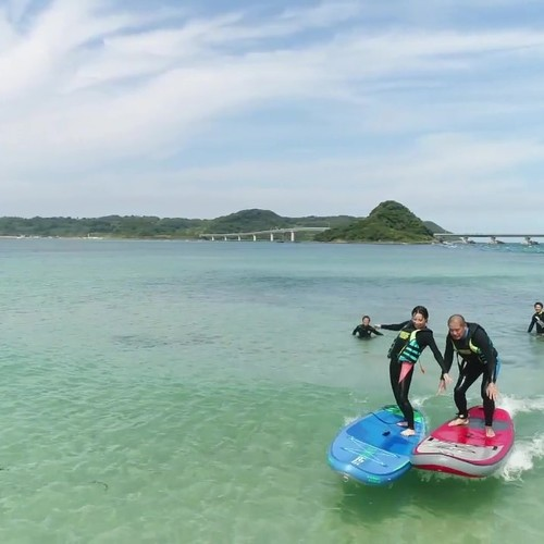 絶景の角島を冒険「アドベンチャープラン」〈1名20000円~参加者が多い方がお得、4名以上は1人6000円〉1時間10分