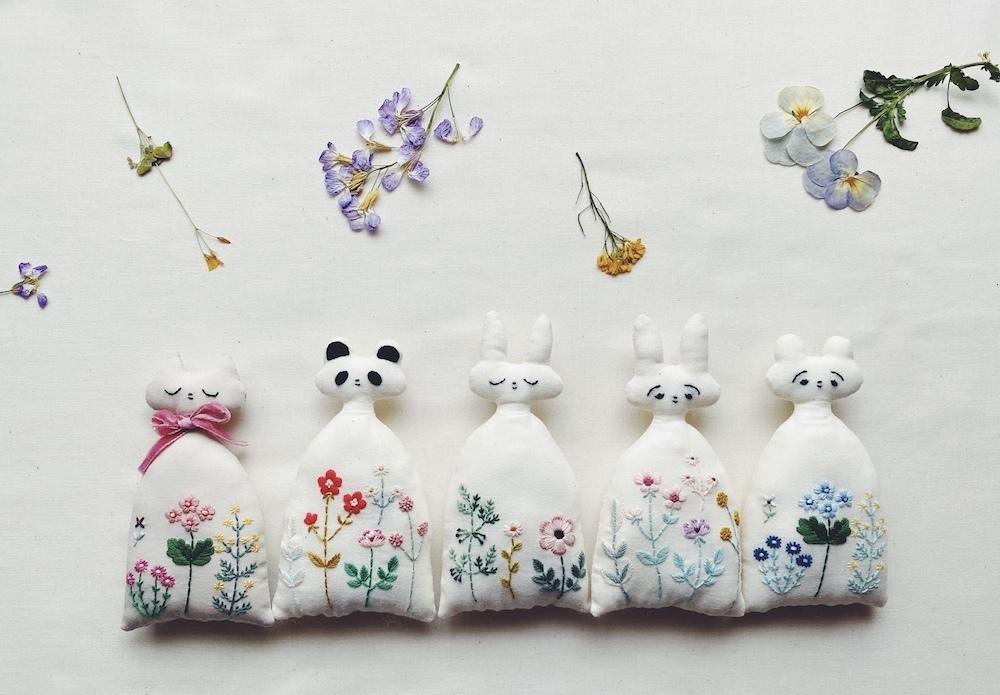 Kanae Entani「Kanaeの刺繍サロン ぬいぐるみのプライベートオーダー会」