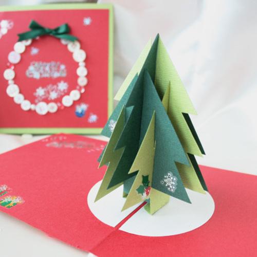 【パピエ*mini*】飛び出すクリスマスツリーカード 12月5日(木)・8日(日) *お子様可