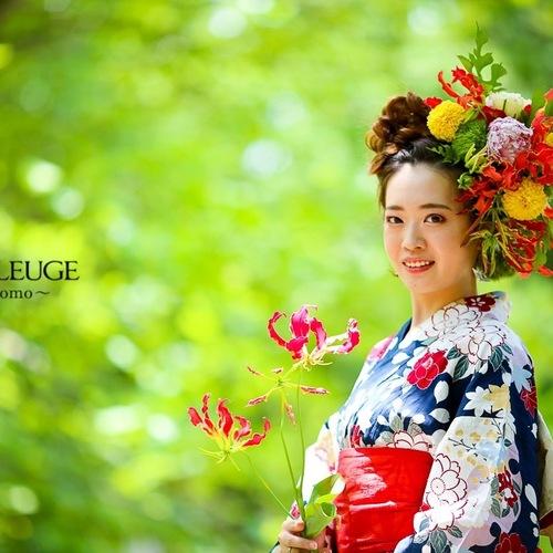 【初開催!】6月30日 花衣認定モデル 星野日菜子 撮影会
