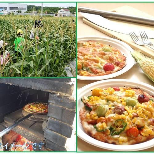 【杜の感謝祭】 とうきびを収穫して窯焼きピザを作ろう