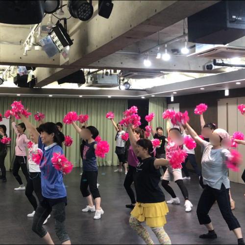 チアダンス教室 @秋葉原 2019年8月4日(日)10:15〜11:45