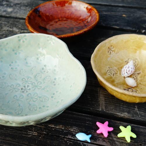 休日陶芸 夏の手びねり体験