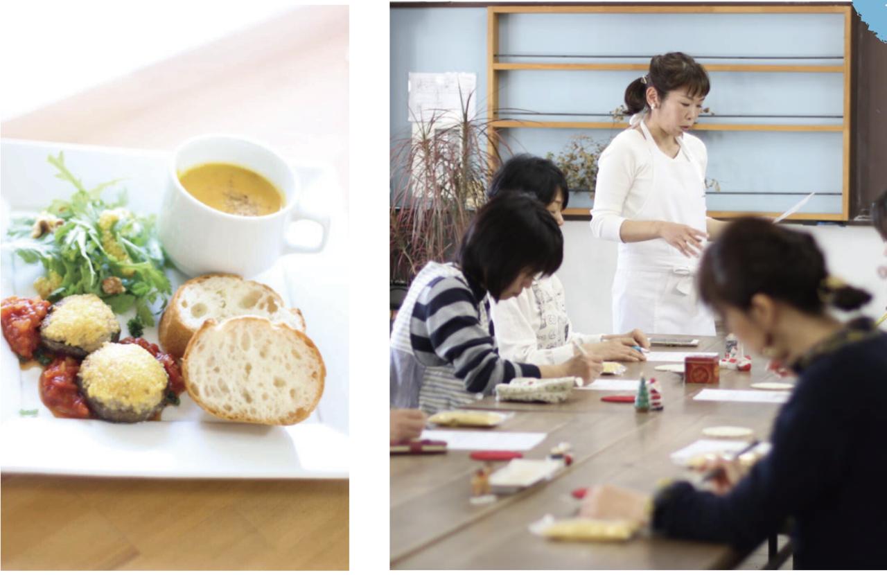 初春の雑穀料理教室