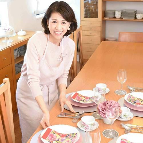 信太康代先生、新刊出版記念 料理教室