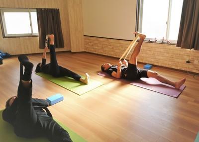 Yoga class @ OC Yoga 品川区大井町