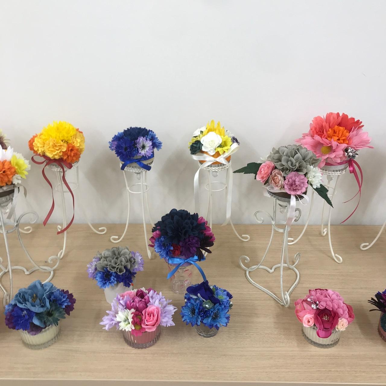 《CF患者応援スマイルプロジェクト》お花のウィッグスタンドを作ろう 12月14日(土)10:00~12:00