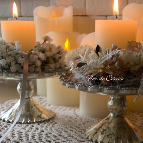 11月は、アロマ香るキャンドル&キャンドルホルダー