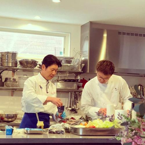 【COOKING】軽井沢のレストランシェフによる料理教室