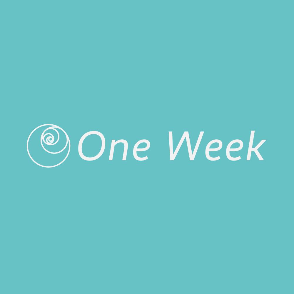 One Week【1週間制通い放題】