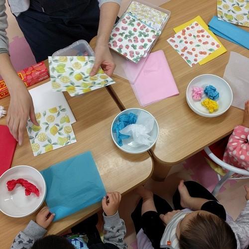 6月20日(木)開催  ルプラ・インファント親子クラス『ころころペタン三色おむすび』