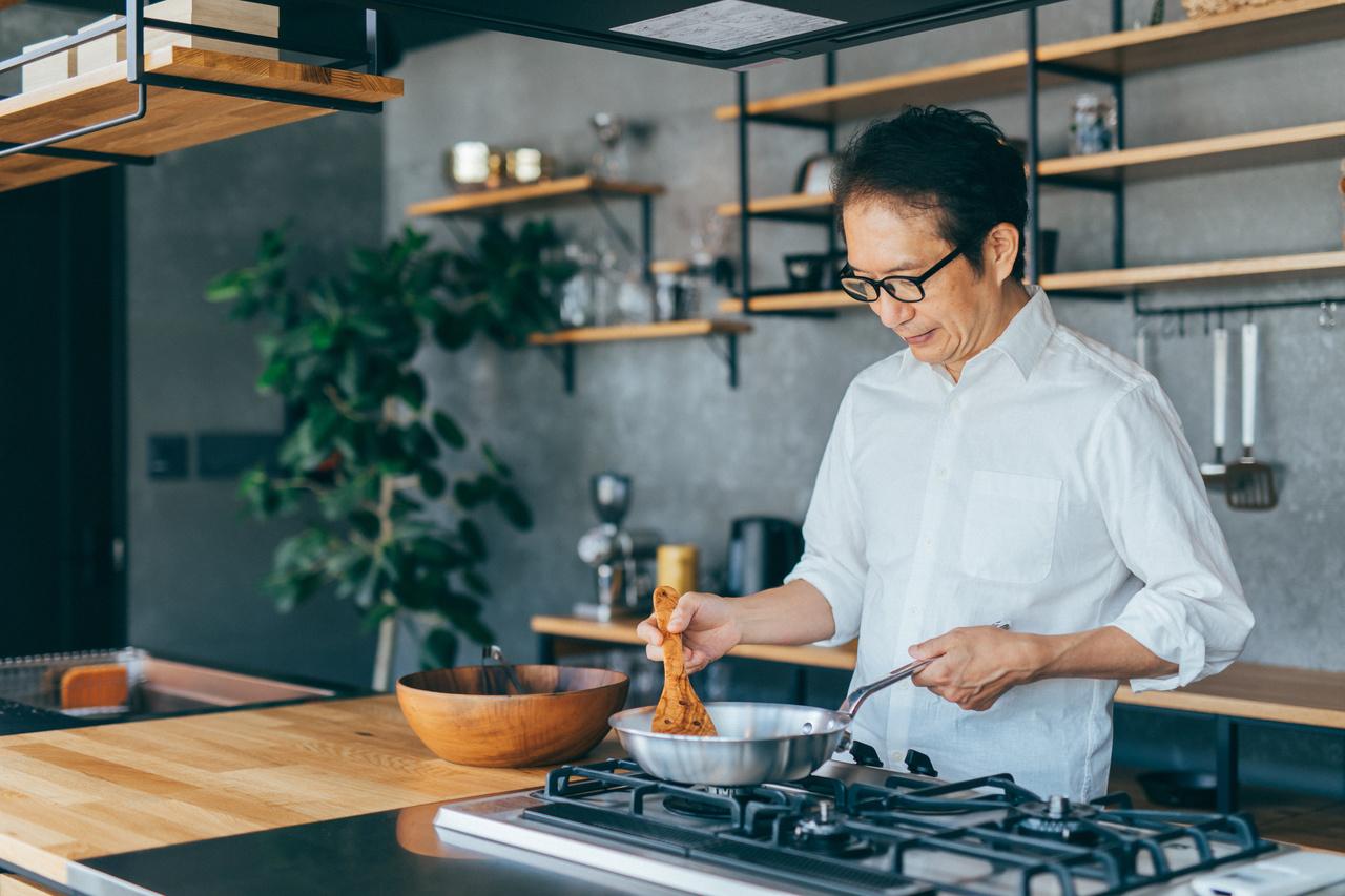 男性のはじめての料理教室