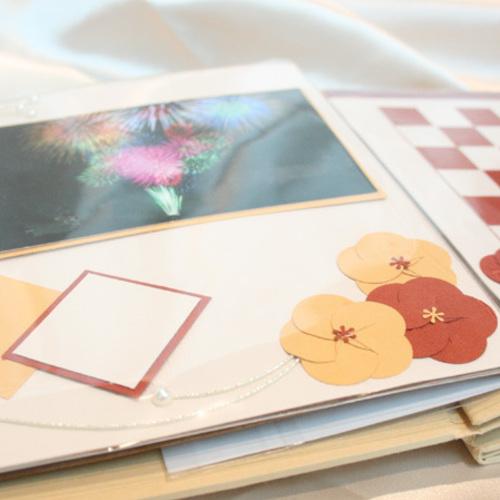 NEW!!【パピエリウムクラフト】8inch Scrapbooking-和モダン- 7月15日(月)