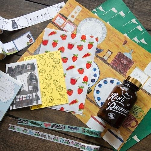 「紙もの雑貨の作り方」at MINOU BOOKS & CAFE (12/21)