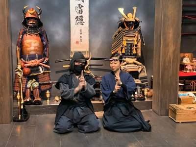 Ninja & Samurai Experience 忍者・侍体験 武蔵一族
