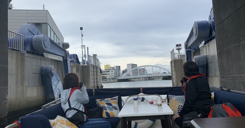 道頓堀&水門通過コース 60分