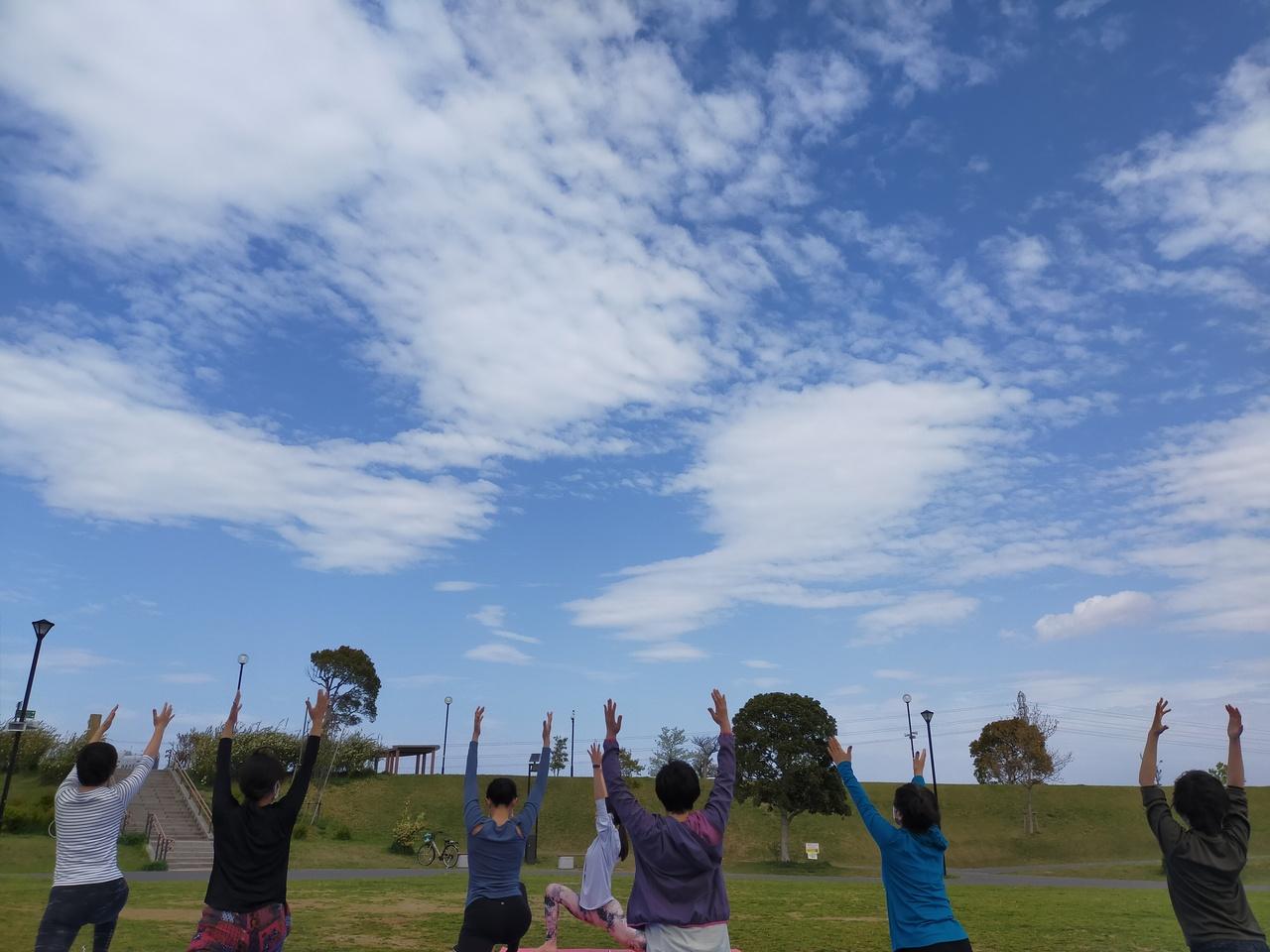 5/15ちはら台公園パークヨガ『Happy Power Yoga』Chiaki