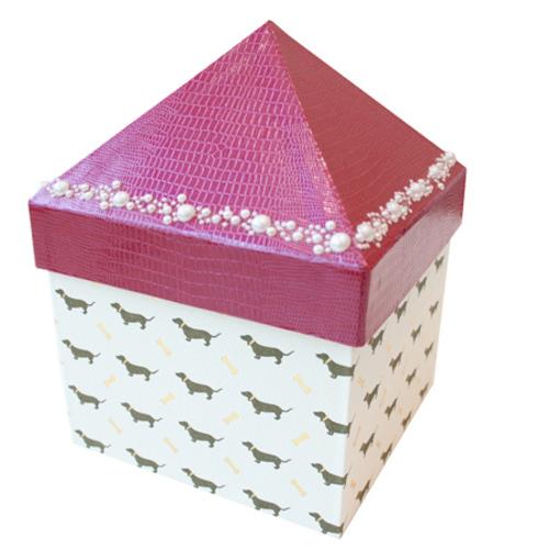 【パピエリウムクラフト】さんかく屋根のハウスBOX 12月9日(月)