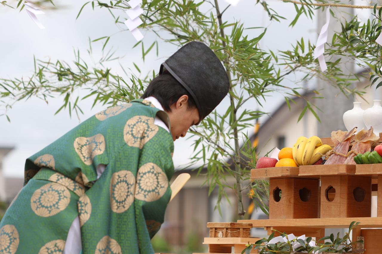 地鎮祭・清祓(きよばらい)のお申込み